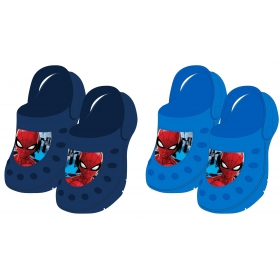 Spiderman garden clogs