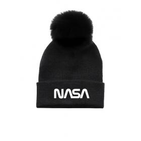 NASA girls winter hat