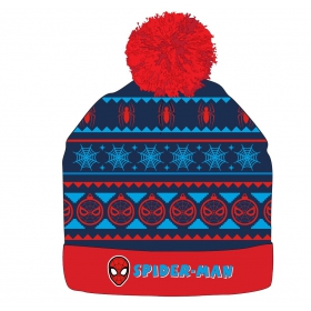 Spiderman boys winter hat