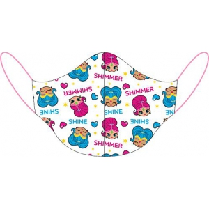Shimmer and Shine reusable cotton face mask
