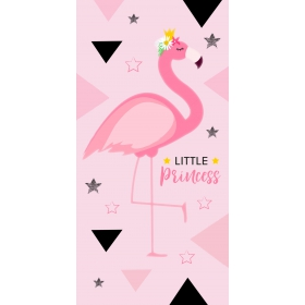 Flamingo beach towel 70x140 cm