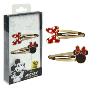 Mickey Mouse hair clips