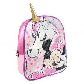Minnie Mouse and Unicorn 3D kindergarten backpack