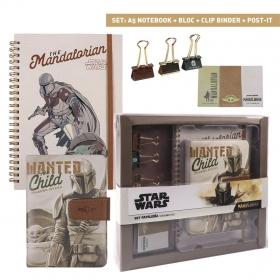 The Mandalorian Stationery set