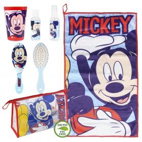 Mickey Mouse Cosmetics Travel Set