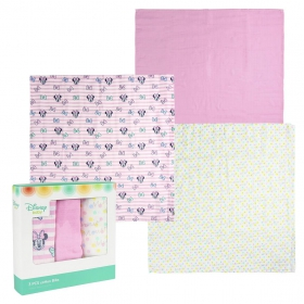 Minnie Mouse Muslin cloths