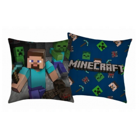 Minecraft cushion 40x40 cm