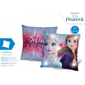 Frozen LED pillow light