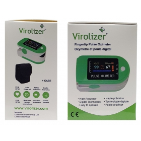 Virolizer fingertip pulse oximeter