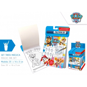 Paw Patrol Coloring book  with magic marker