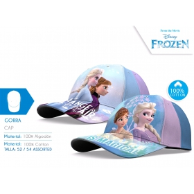 Frozen baseball baseball cap