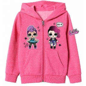 LOL Surprise hoodie with zip