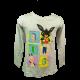 Bing girls' long sleeve blouse