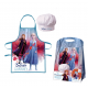 Frozen apron and chef hat