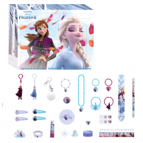 Advent calendar with Frozen jewelry