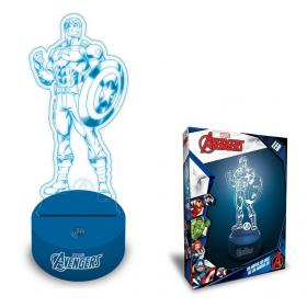 Avengers 3D lamp