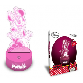 Minnie Mouse 3D lamp