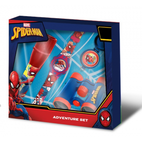 Watch + Spiderman travel kit