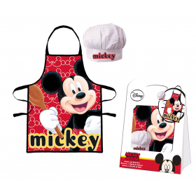 Mickey Mouse Kitchen set - apron and chef's hat