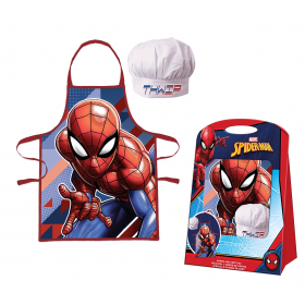 Spiderman Kitchen set - apron and chef's hat