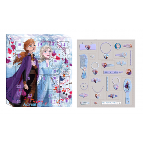 Frozen Advent Calendar with Hair Accessories