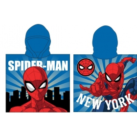 Spiderman boys' poncho