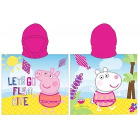 Peppa Pig girls' poncho