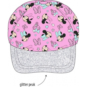 Minnie Mouse girls' cap with a visor