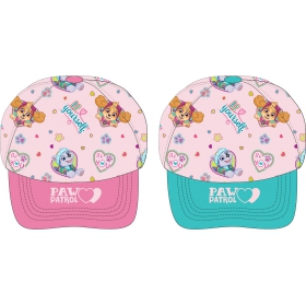 Paw Patrol girls' cap with a visor