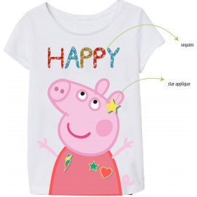 Peppa Pig girls' t-shirt
