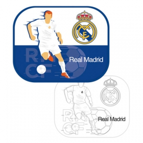 Real Madrid car cun protector 2 pcs + draw mat