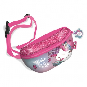 Zaska Unicorn 3 canvas banana bag 22x14x7
