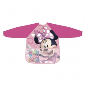 Minnie Mouse apron with sleeve