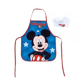Mickey Mouse kitchen apron and hat set