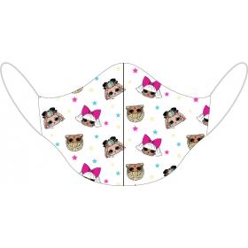 LOL Surprise reusable cotton face mask