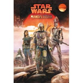 Star Wars The Mandalorian poster