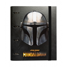 Star Wars The Mandalorian premium 4 ring binder file folder