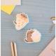 Pusheen foodie collection eraser set