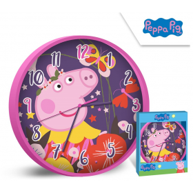 Wall clock Peppa Pig 25 cm