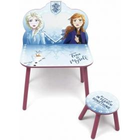 Frozen vanity set with stool