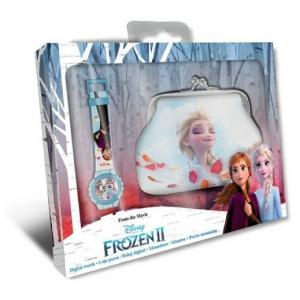 Frozen digital watch with purse