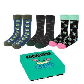 The Mandalorian Gift set - women's socks 3 pack