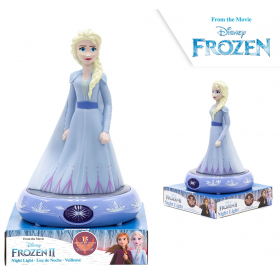 Elsa 3d figure night lamp