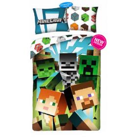 Minecraft bedding 140x200 cm + 70x90 cm