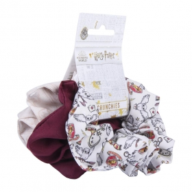 Harry Potter Hair accessories scrunchies 3 pack