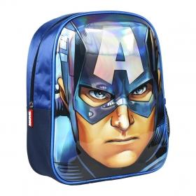 Avengers - Captain America 3D kindergarten backpack