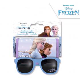 Frozen wallet + sunglasses