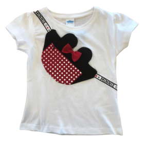 Minnie Mouse girls' t-shirt with pocket