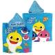 Baby Shark fast dry poncho towel