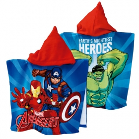 Avengers fast dry poncho towel